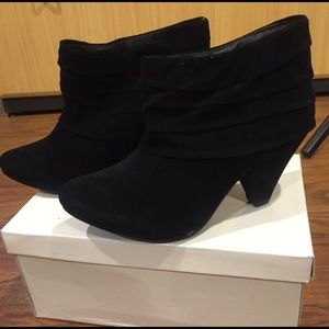 Forever 21 - Black Ankle Bootie Heels - New In Box